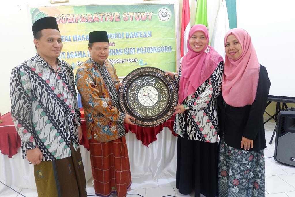 Jalin Silaturrahmi, Dosen IAI Sunan Giri Bojonegoro berkunjung ke STAI Hasan Jufri Bawean