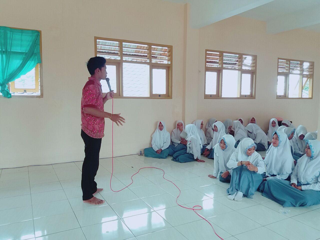 Mahasiswa STAIHA Gelar Sosialisasi Kampus di SMA & MA Umar Mas'ud