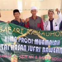 Hima Prodi Muamalah Gelar Safari Ramadhan di Mushalla Urwatul Wustqa Tambak Tengah