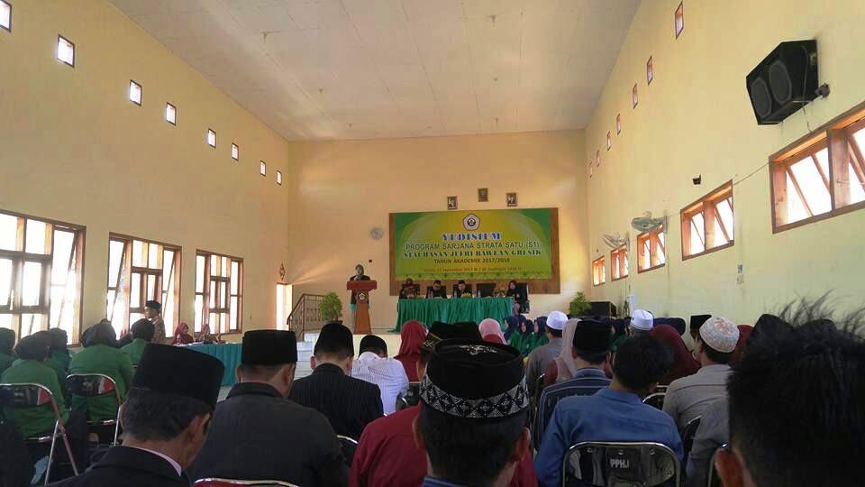 Yudisium Program Sarjana Strata Satu (S1) STAI Hasan Jufri Bawean Gresik Tahun Ajaran 2017/2018