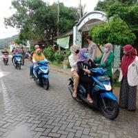 Mahasiswa STAI Hasan Jufri Bawean, Peduli dan Bergerak dalam pencegahan Covid 19 di Bawean
